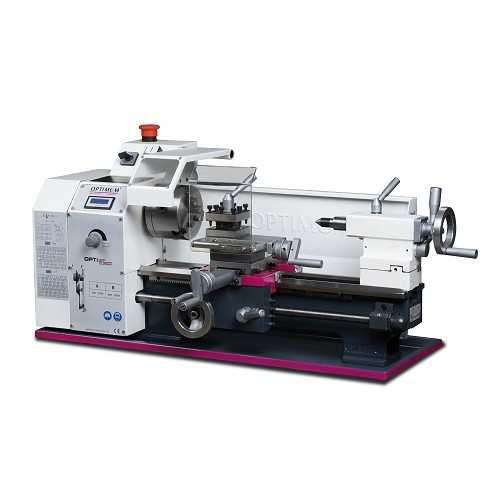 OPT050OP0310 - LATHE MODEL TU 2004 V WITH DIGITAL DISPLAY AND CONTINUOUS ADJUSTMENT OF THE RPM - POWER OUTPUT 230 V Dinamitek 2