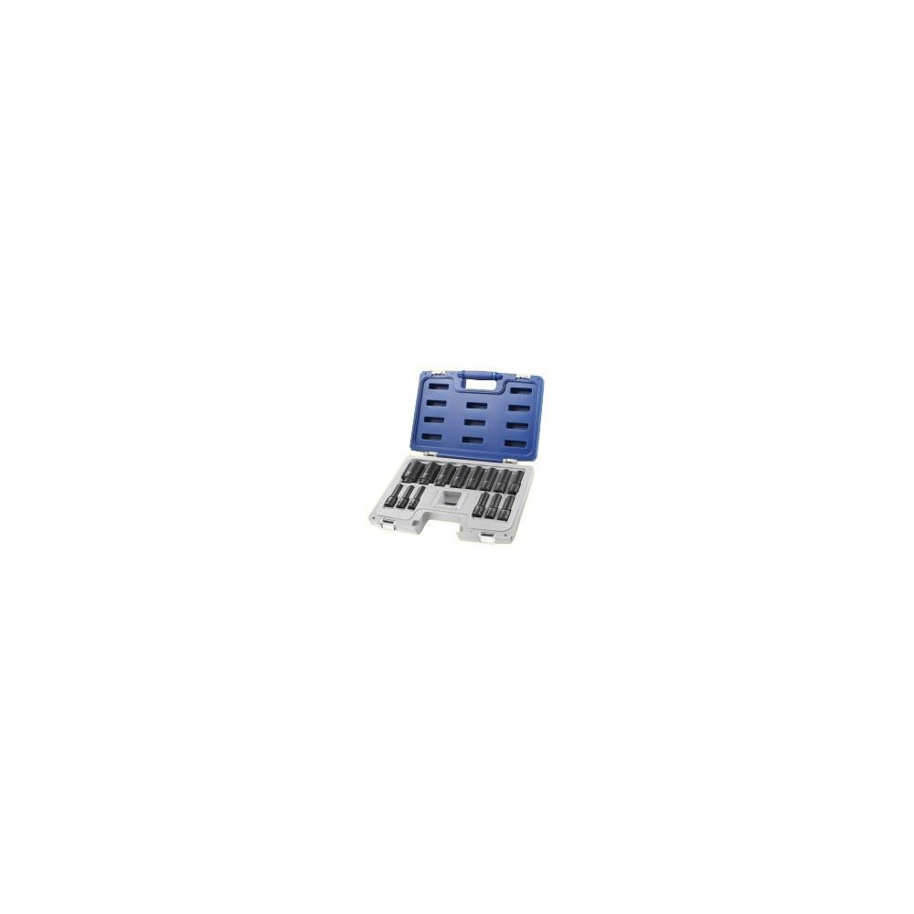 """E041602 ASSORTMENT SOCKETS LONG 1/2"""" PASTORINO EXPERT 14-PIECE Dinamitek 2"""