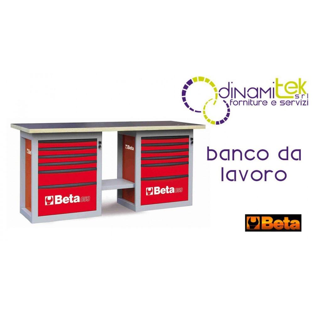 059000042 C59B OU-5900B BANCOLAVORO D'ENDURANCE DE DEUX TIROIRS BêTA Dinamitek 1