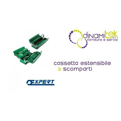 809V3000 009/3V CASSETTA ESTENSIBILE A 3 SCOMPARTI PASTORINO EXPERT Dinamitek 1
