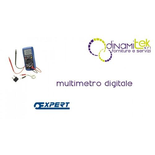 E051301 MULTIMETRO DIGITALE PASTORINO EXPERT Dinamitek 1