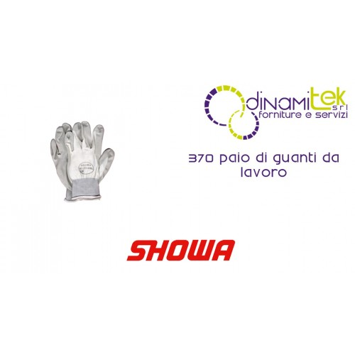 PAIR OF WORK GLOVES 370 SHOWA Dinamitek 1