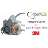 6200 RESPIRATORE A SEMIMASCHERA RIUTILIZZABILE TG M 3M Dinamitek 1