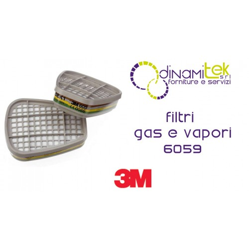 6059 COUPLE FILTERS UNIVERSAL CLASS ABEK1 3M Dinamitek 1