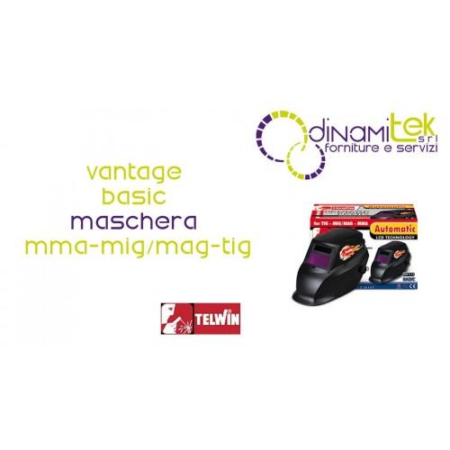 MASK WELDER LIQUID CRYSTAL VANTAGE BASIC TELWIN Dinamitek 1