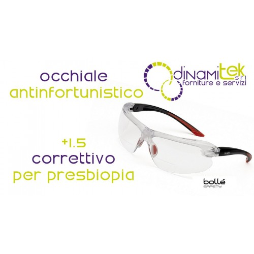 IRIDPSI15 GLASSES FOR PRESBYOPIA +1.5 BUBBLES' SAFETY Dinamitek 1