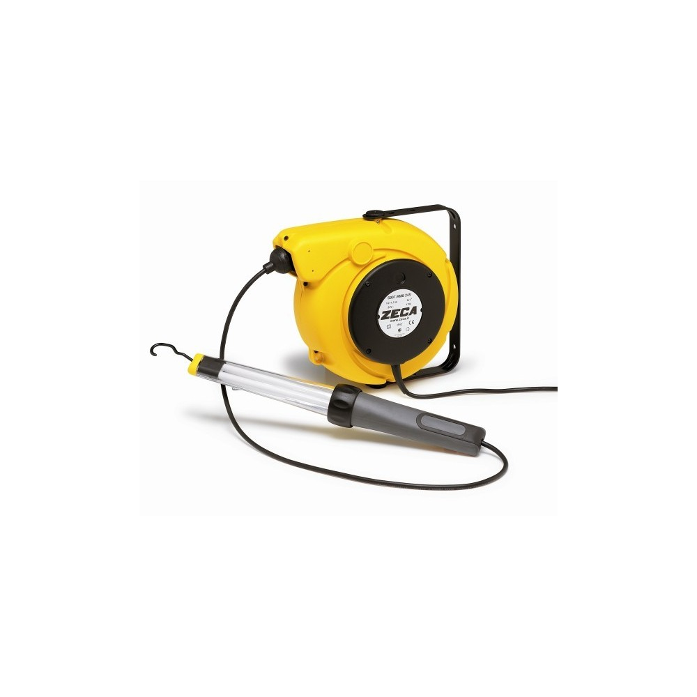 5907/AM8 230V CABLE REEL WITH PORTABLE LAMP FLUORESCENT AM8 230 V ZECA Dinamitek 2