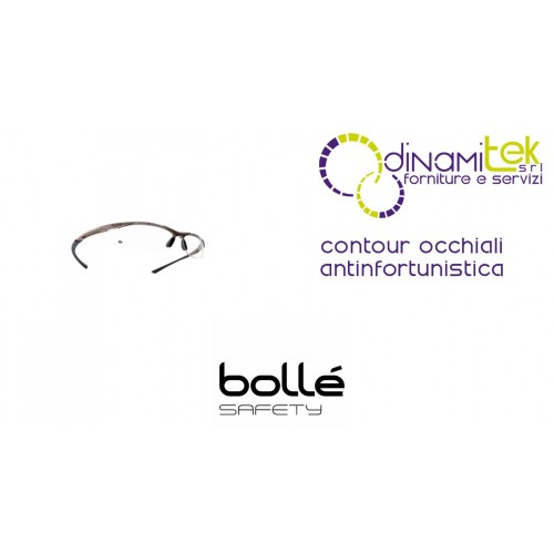 CONTOUR OCCHIALI ANTINFORTUNISTICI BOLLE' SAFETY