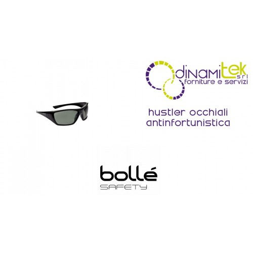 GLASSES SAFETY WEAR HUSTLER BOLLE' SAFETY Dinamitek 1