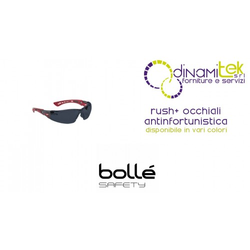 GLASSES SAFETY WEAR RUSH+ BOLLE' SAFETY Dinamitek 1