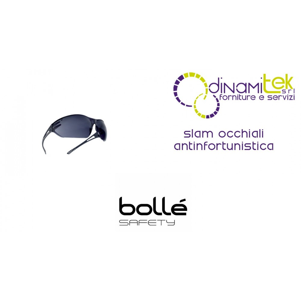GLASSES SAFETY WEAR SLAM BOLLE' SAFETY Dinamitek 1