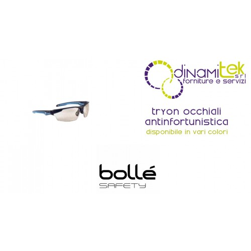 GLASSES SAFETY WEAR TRYON BOLLE' SAFETY Dinamitek 1