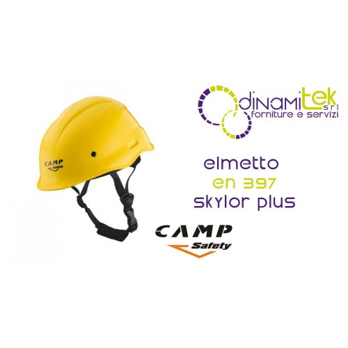 0209 SKYLOR PLUS ELMETTO EN 397 CAMP SAFETY Dinamitek 1