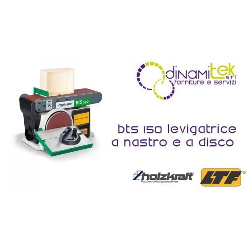 HOLZKRAFT - HOL5904150 - Levigatrice A Nastro E A Disco Modello BTS 150 - 915X100 Mm Dinamitek 1