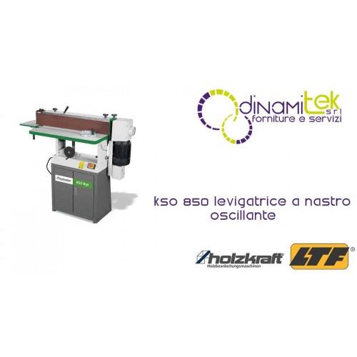 HOLZKRAFT - HOL5900851 - Levigatrice A Nastro Oscillante Modello KSO 850 - 230 V Dinamitek 1