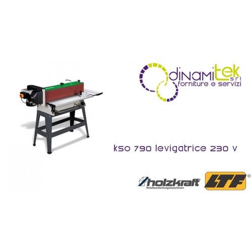 HOLZKRAFT - HOL5900791 - Levigatrice 230 V Modello KSO 790 - Dimensioni Nastro Abrasivo 2010x152 mm Dinamitek 1