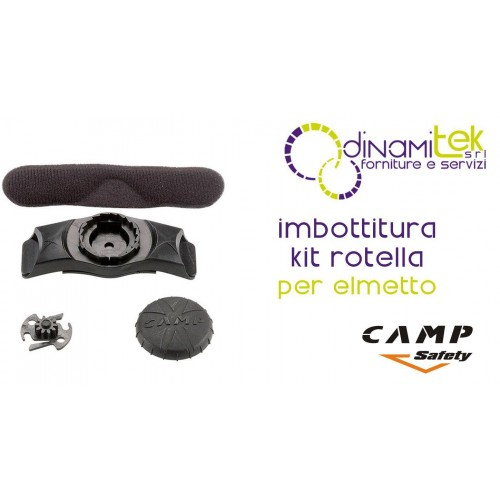 2068 KIT ADJUSTMENT WHEEL FOR PADDING HELMET CAMP SAFETY Dinamitek 1