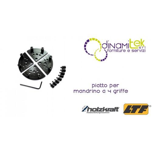 HOLZKRAFT - HOL5931055 - Piatto Per Mandrino A 4 Griffe Dinamitek 1