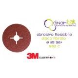55075-982 C-CUBITRON II-DISCHI FIBRATI 115 GRANA 36 3M Dinamitek 1
