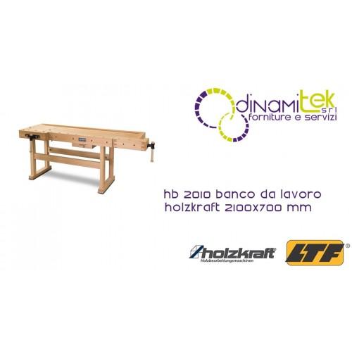 HOLZKRAFT - HOL5102102 - WORKING BENCH MODEL HB 2010 - 2100X700 MM Dinamitek 1