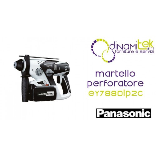 EY7880LP2C MARTELLO PERFORATORE PANASONIC 28,8V - 2 X 3,0 AH