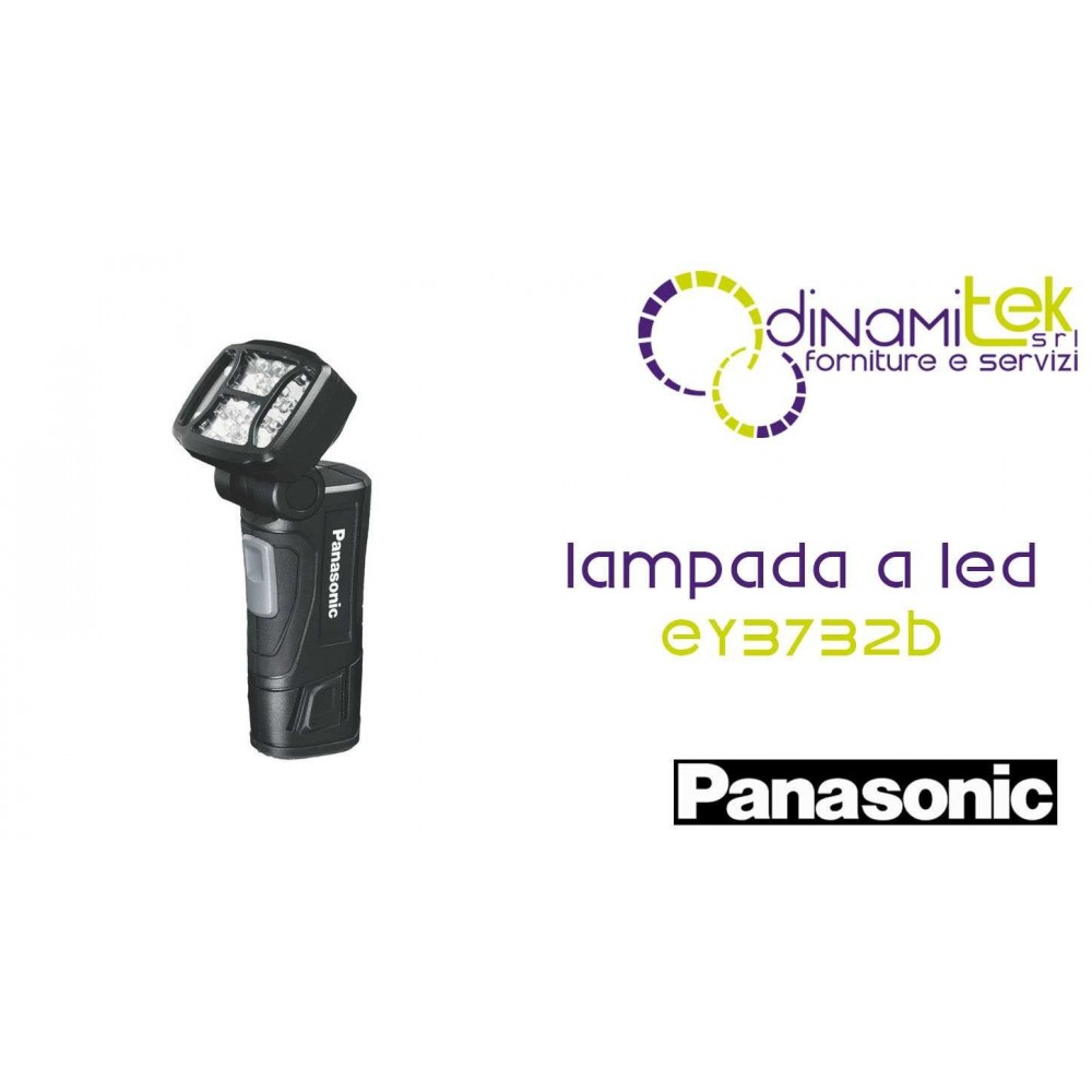 LAMPADA A LED 10.8V 1.5 AH - BATTERIA NON INCLUSA PANASONIC EY3732B Dinamitek 1
