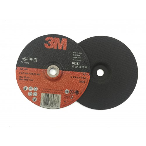 65487-T41-CUBITRON II CUT-OFF VERSION DE ROUE, PLAT 230 X 3 3M Dinamitek 2