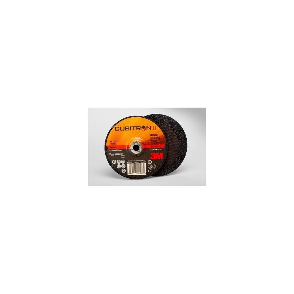 94002-T27-CUBITRON II MOLIENDA DE DISCOS DE CENTRO DEPRIMIDO 125 X 7 3M Dinamitek 2