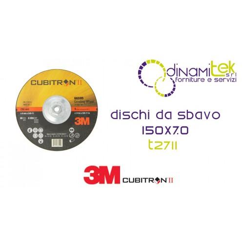 94001-T27-CUBITRON II-DISCO DA SBAVO CENTRO DEPRESSO 150 X 7 3M Dinamitek 1