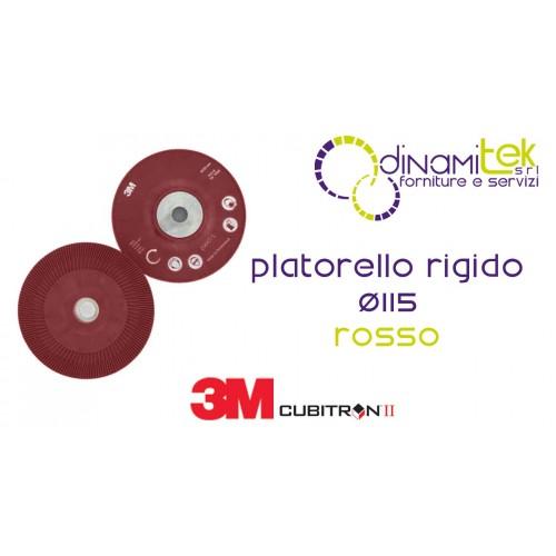 64860-PLATORELLO RIGIDO ROSSO CUBITRON II 3M Dinamitek 1