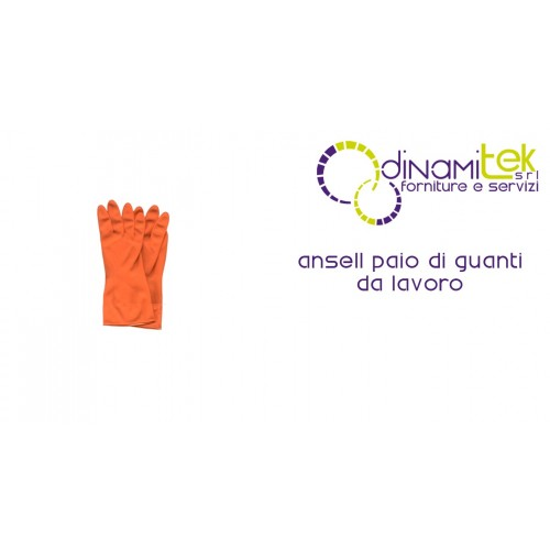 PAIR OF WORK GLOVES ANSELL DINAMITEK Dinamitek 1
