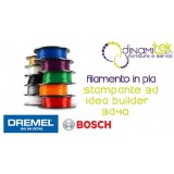 DREMEL BT40-02 SET 2 TAPPETINI PER STAMPANTE 3D IDEA BUILDER Dinamitek 1