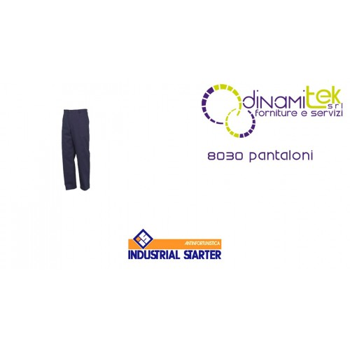 WORK TROUSERS 8030 INDUSTRIAL STARTER Dinamitek 1