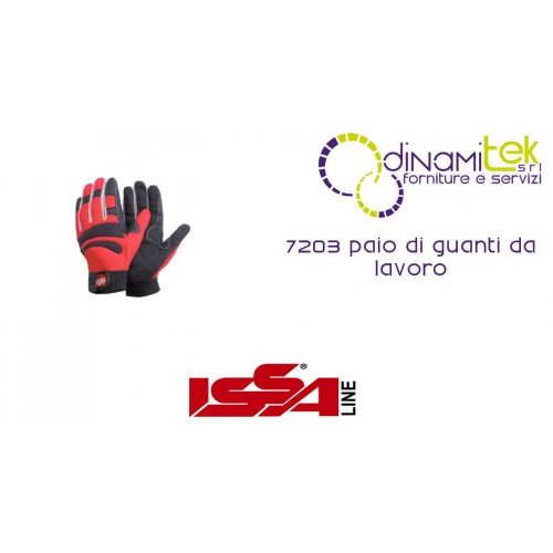 PAIR OF WORK GLOVES, 7203 ISSA LINE Dinamitek 1