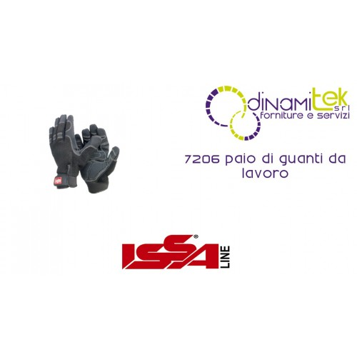 PAIR OF WORK GLOVES, 7206 ISSA LINE Dinamitek 1