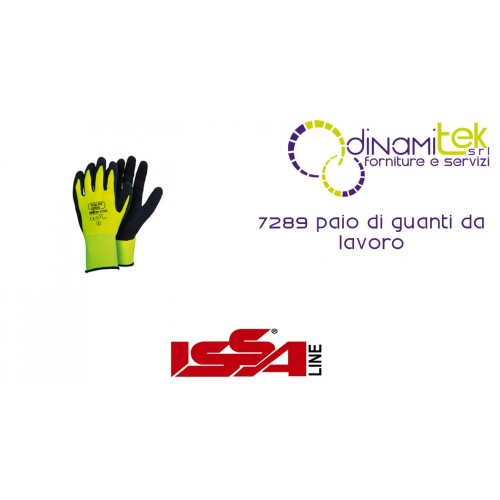 PAIR OF WORK GLOVES, 7289 ISSA LINE Dinamitek 1