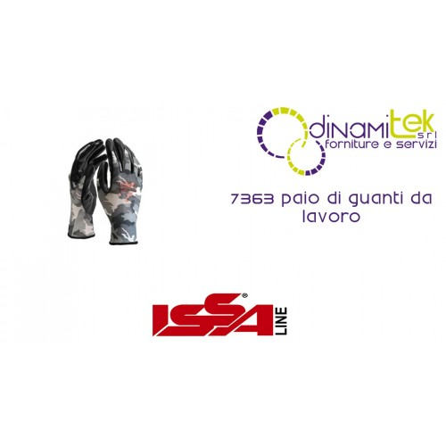 PAIR OF WORK GLOVES, 7363 ISSA LINE Dinamitek 1