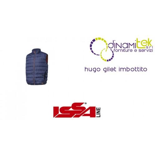 GILET IMBOTTITO DA LAVORO HUGO ISSA LINE Dinamitek 1