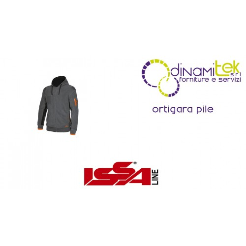 ORTIGARA KNITTED FLEECE FULL ZIP ISSA LINE Dinamitek 1