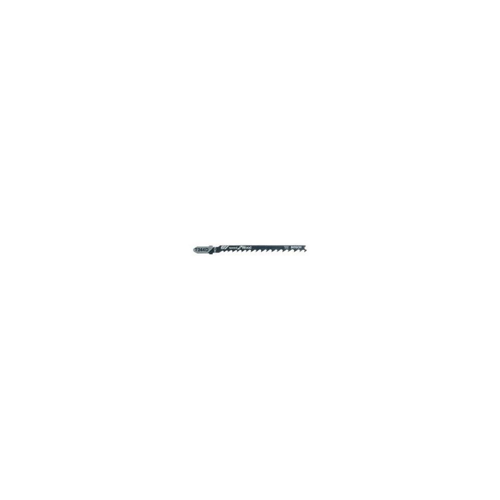 BLADE FOR JIGSAW 5PCS T 244 D HCS BOSCH Dinamitek 2