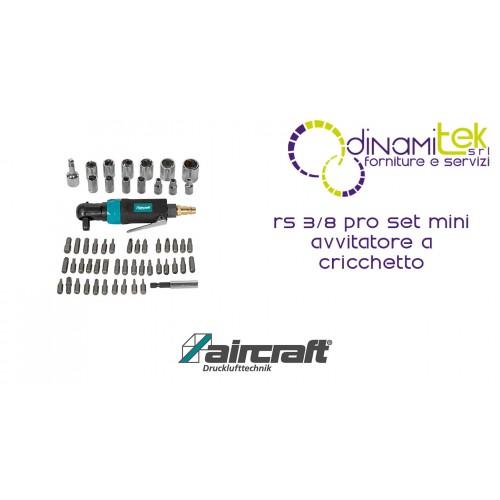 JEU DE MINI TOURNEVIS à CLIQUET RS 3/8 PRO AIRCRAFT Dinamitek 1
