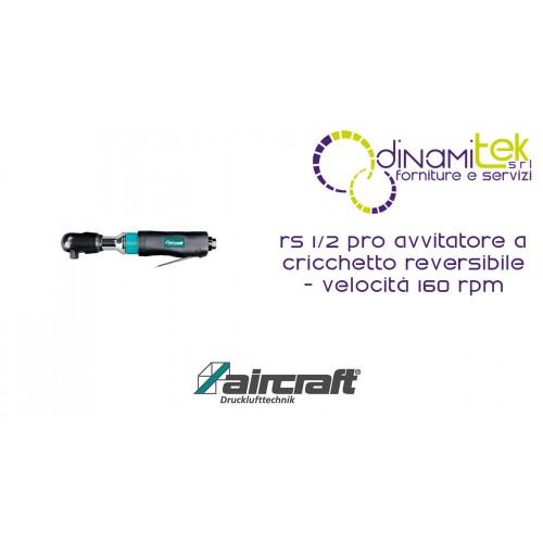 IMPACTO DE LA LLAVE DE CARRACA REVERSIBLE - VELOCIDAD DE 160 RPM RS 1/2 PRO AIRCRAFT Dinamitek 1