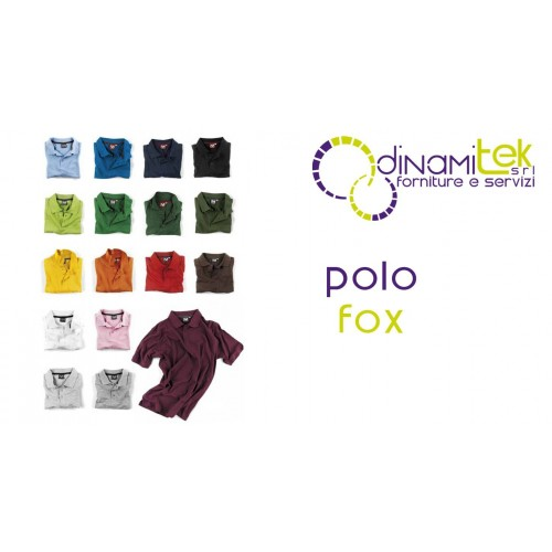 E0404 POLO PIQUET FOX DINAMITEK