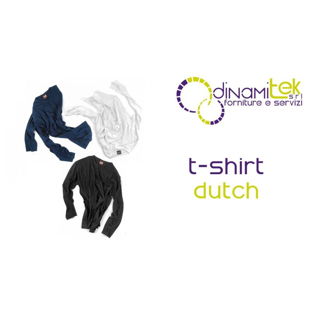 T-SHIRT DUTCH MANICA LUNGA E0413 Dinamitek 1