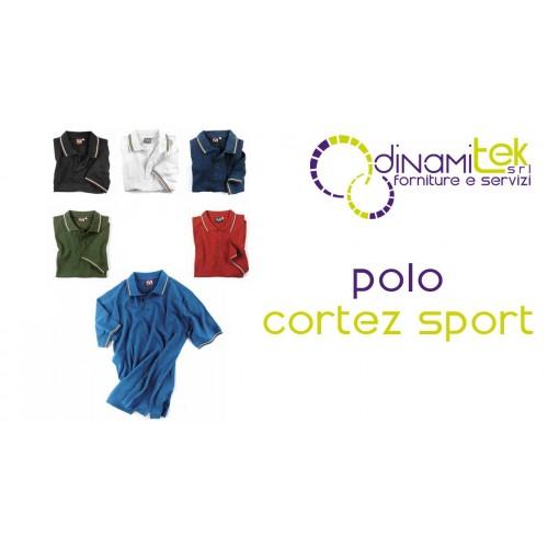 POLO SHIRT CORTEZ SPORT E0416 DINAMITEK Dinamitek 1