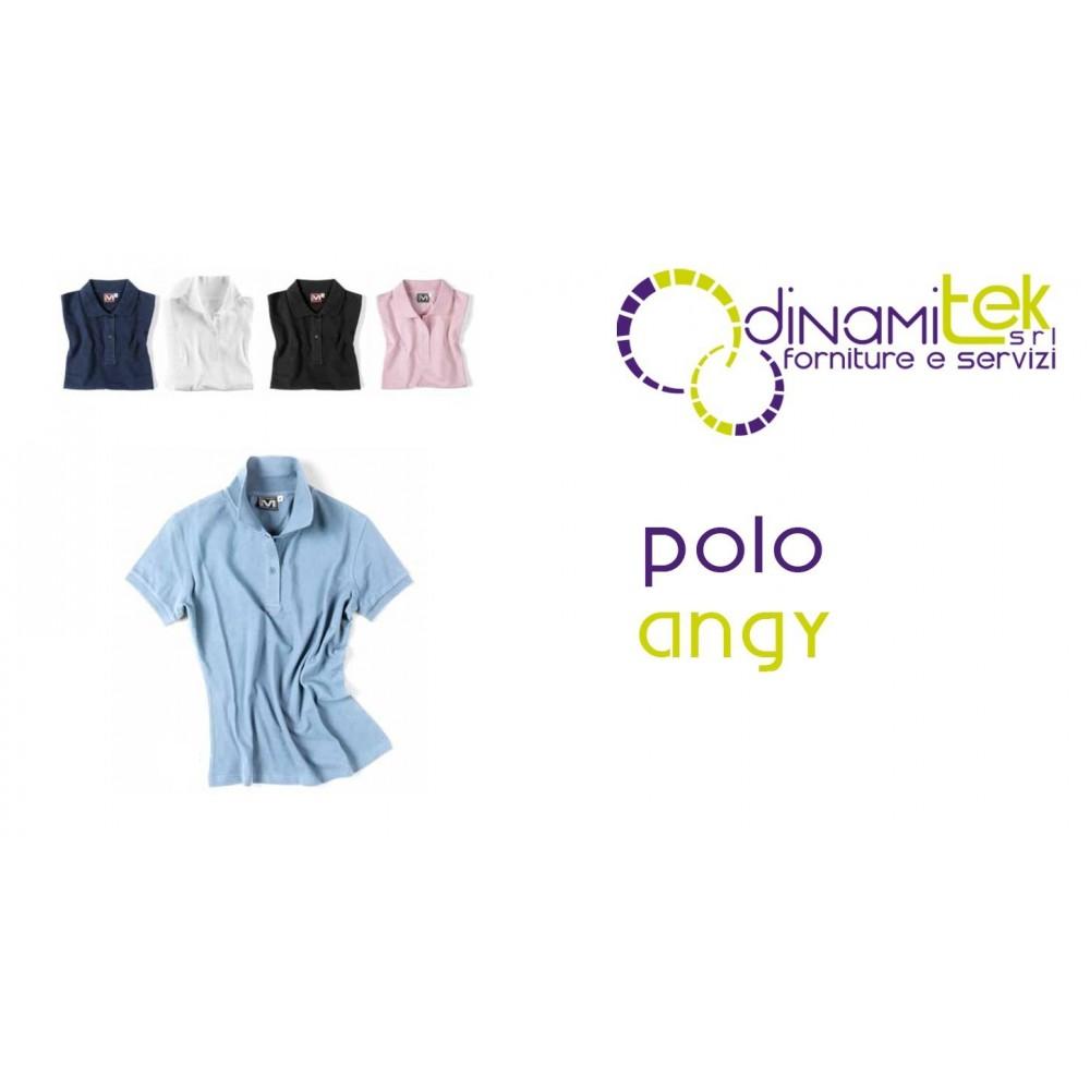 POLO PIQUET DONNA ANGY E0417 Dinamitek 1