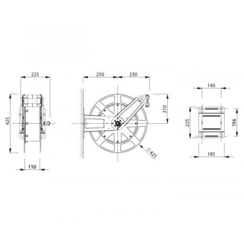 RICAMBI PER AEROGRAFI AGO-CAPPELLO-UGELLO PB/NE-ASTURO-00131 dinamitek
