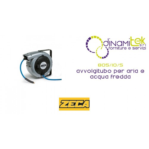 805/10/S HOSE REELS SILVER ZECA FOR AIR AND COLD WATER SERIES 805 Dinamitek 1