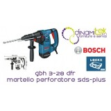 HAMMER PUNCH ATTACK SDS-PLUS GBH 3-28 DFR BOSCH Dinamitek 1