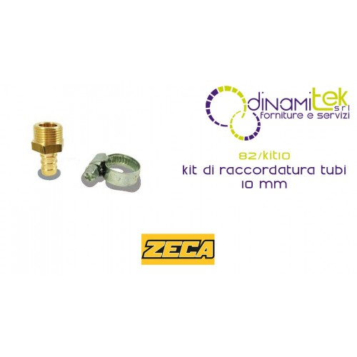 82/KIT10 KIT DI RACCORDATURA TUBI ZECA 10 mm Dinamitek 1